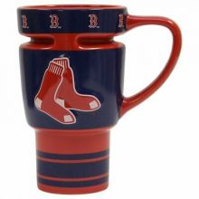 Boston Red Sox Sculpted Travel Mug with Lid
