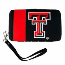 Texas Tech Red Raiders Distressed Wallet Wristlet