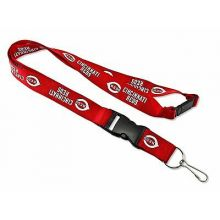 MLB Cincinnati Reds Team Color Breakaway Lanyard Key Chaim