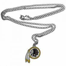 Washington Redskins Logo Chain Necklace