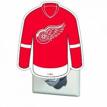 Detroit Red Wings Jersey Night Light