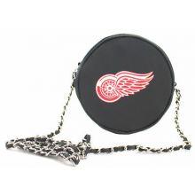 NHL Detroit Red Wings  Hockey Puck Crossbody Purse