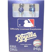 Kansas City Royals Ihip Earbuds Headphones