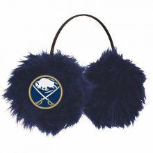Buffalo Sabres Embroidered Faux Fur Team Logo Earmuffs Cheermuffs