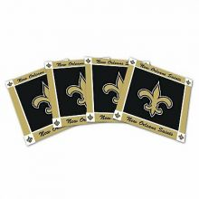 New Orleans Saints 4-Pack Ceramic Coasters