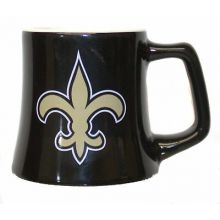 New Orleans Saints Wide Base Mini Mug 2 oz Shot Glass