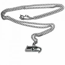Seattle Seahawks Logo Chain Necklace