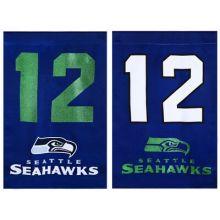 "Seattle Seahawks 12.5"" x 18"" 12th Man Garden Flag"