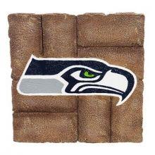 Seattle Seahawks 12 inch x 12 inch Garden Stone