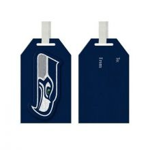 Seattle Seahawks Wooden Gift Tag Ornament