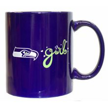 Seattle Seahawks Team Color Seahawks Girl 12oz Mug