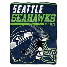 Seattle Seahawks Super Plush Fleece Throw
