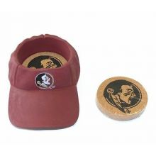 Florida State Seminoles Team Colored Cap Coaster Set