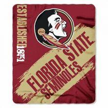 Florida State Seminoles Established Fleece Throw Blanket