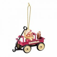 Florida State Seminoles Team Wagon Ornament