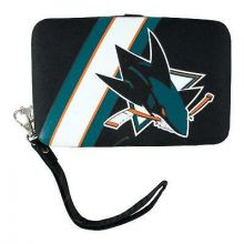 "San Jose Sharks Distressed Wallet Wristlet Case (3.5"" X .5"" X 6"")"