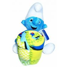 The Northwest Company Smurfs Plush Doll and Fleece Blanket Set for Children and