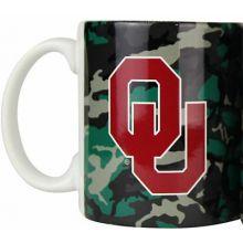 Oklahoma Sooners Camouflage 11oz Coffee Mug