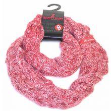 Oklahoma Sooners Chunky Duo Knit Infinity Scarf