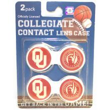 Oklahoma Sooners Contact Lens Case 2 Pack
