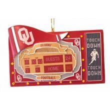 Oklahoma Sooners Scoreboard Ornament