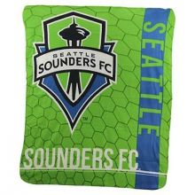 Seattle Sounders FC Light Weight Fleece Blanket