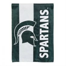 Michigan State Spartans Embellish House Flag