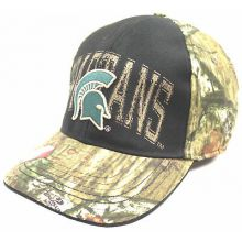 Michigan State Spartans Mossy Oak Camouflage Flex Fit Hat