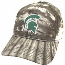Michigan State Spartans Water Color Camouflage Adjustable Hat