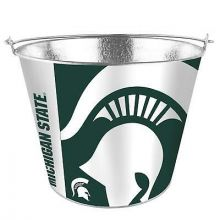 Michigan Spartens Sleek Wrap 5 Qt. Aluminum Ice Bucket