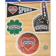 San Antonio Spurs 4 Piece Magnet Set
