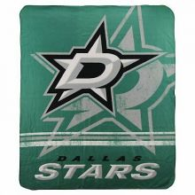 "NHL Officially Licensed Dallas Stars Shadow Fleece Throw Blanket (50"" x 60"")"