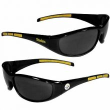 Pittsburgh Steelers Wrap 3-Dot Sunglasses