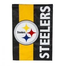Pittsburgh Steelers Embelish Garden Flag