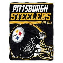 Pittsburgh Steelers Super Plush Fleece Throw