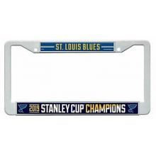 St Louis Blues 2019 Stanley Cup Champions Plastic Frame License Plate Tag Cover