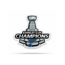 NHL Stanley Cup Champions St. Louis Blues Die Cut Pennant