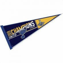 NHL Stanley Cup Final Champions St. Louis Blues Classic Pennant