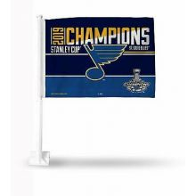 St. Louis Blues 2019 Stanley Cup Champions Car Flag