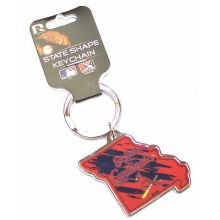 St. Louis Cardinals State Shape Keychain