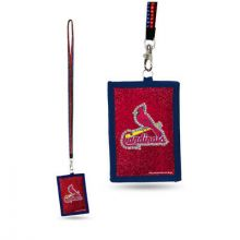 St. Louis Cardinals Beaded Lanyard I.D. Wallet