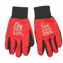 MLB St. Louis Cardinals Metalic Logo Utility Gloves