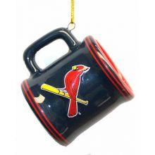 St. Louis Cardinals Ceramic Mini Mug Ornament