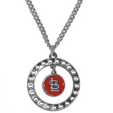 St. Louis Cardinals Rhinestone Chain Necklace