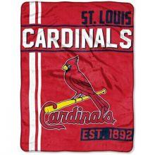 """St. Louis Cardinals 46"""" x 60"""" Walk Off Micro Raschel Throw Blanket"""