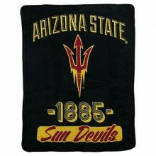 Arizona State Sun Devils Varsity Super Plush Fleece Throw