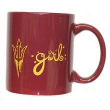 Arizona Sun Devils  Team Color 12oz  Girl Mug