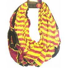 Arizona State Sundevils Striped 2 Tone Infinity Scarf