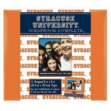 "Syracuse Orange 8"" X 8"" Complete Scrapbook Kit"
