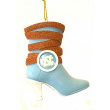 North Carolina Tar Heels Team Boot Ornament